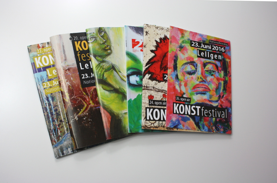 Brochures Open Air Konstfestival Lellingen